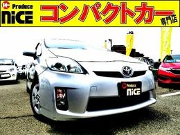 トヨタ プリウス 1.8 S 純正SDナビ・ETC・DVD再生・スマートキー