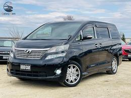 トヨタ ヴェルファイア 3.5 V Lエディション 4WD ナビTVサンルーフエグゼクティブシート両電