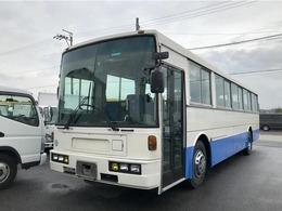 UDトラックス スペースランナー 57人乗り V8エンジン 自動ドア 仮眠席 ガイド席 送迎仕様 フルエアサス