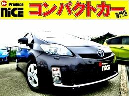 トヨタ プリウス 1.8 S LEDエディション 純正オーディオデッキ・ETC・スマートキー