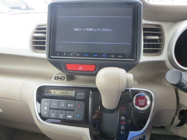 純正最上位機種のデカナビを搭載♪♪オーディオソースはCD・DVDビデオに地デジフルセグTVです♪CDの録音だって簡単サクサク♪ブルートゥース機能も搭載♪エアコンもフルオートで快適な車内をお約束♪
