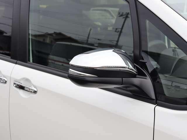 【 ウィンカーミラー 】他車からの視認性も良好です!