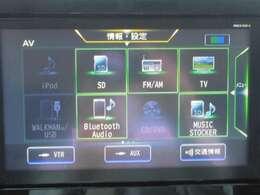 DVD、CDやBluetoothオーディオなどお楽しみ頂けます。車内がまるでコンサートホールのようにお楽しみ頂けます。