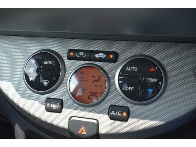 オートエアコン付きで車内も快適