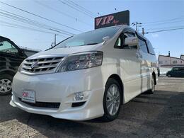 トヨタ アルファード 2.4 V AS 4WD 7人乗り ETC キーレス ABS Wエアバック