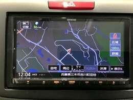 KENWOOD製メモリーナビ『MDV-M705』が装備されています。Bluetooth、DVD、地デジ対応。