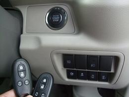 プッシュスタートシステム搭載!!エンジン始動・解除はボタンをワンタッチだけという優れもの♪人気の装備です。