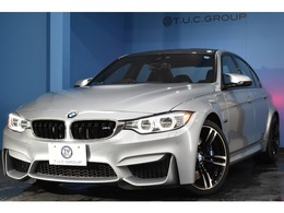 BMW M3セダン M DCT ドライブロジック 7速DCT HUD 可変Mサス LED/H 黒革 2年保証
