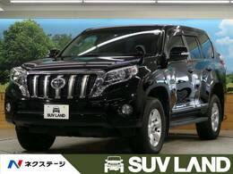 トヨタ ランドクルーザープラド 2.7 TX Lパッケージ 4WD 黒革 7型SDナビ Bカメラ クルコン LED