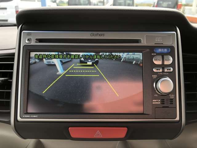 駐車楽々バックカメラ付き!テレビが見れるナビへの付替えもご相談下さい!