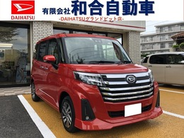 ダイハツ トール 1.0 カスタムG 新車・純正ナビ・パノラマモニター・マット