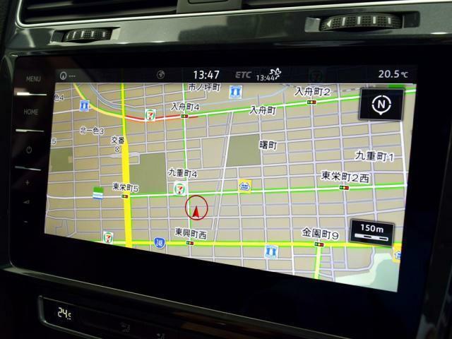 """9.2インチ大型全面タッチスクリーンの""""DiscoverProナビゲーション。スマートフォンの様に画面を軽くタッチすれば反応する操作感の良いナビゲーションです。(Bluetooth、App-Conne"""