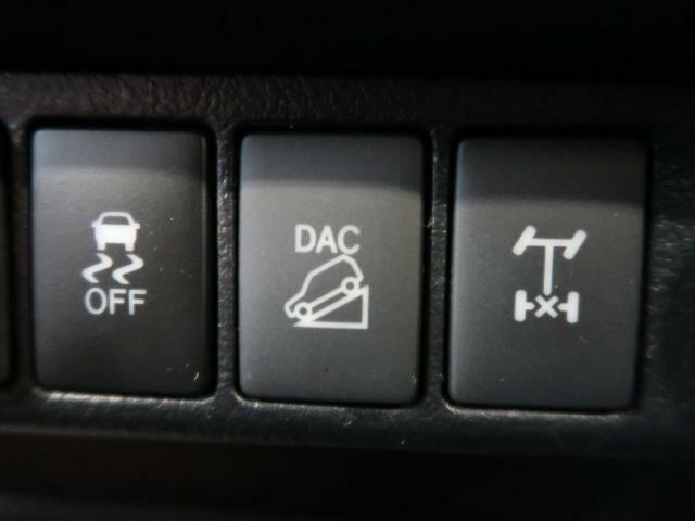 【ダウンヒルアシストコントロール】様々な路面状況に応じた駆動力の制御が可能で、オンロードからオフロードまで高い走行性能を実現しています☆