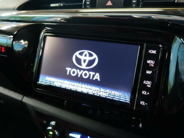 トヨタT-Connect ナビが搭載されています☆フルセグTV・CD・DVDが再生可能です☆