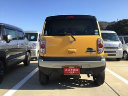 狭い路地での駐車もスムーズにできます。