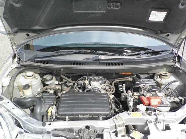 エンジンは洗わずに撮影しています