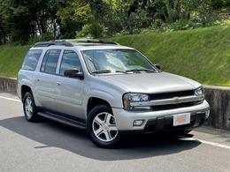 シボレー トレイルブレイザー EXT LTZ (V8) サンルーフ装着車 4WD 本革 ナビバック カメラ