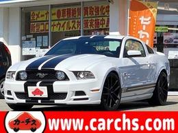 フォード マスタング V8 GT クーペ プレミアム CORSA/NICHE20AW/WILWOOD/本革/正規D車