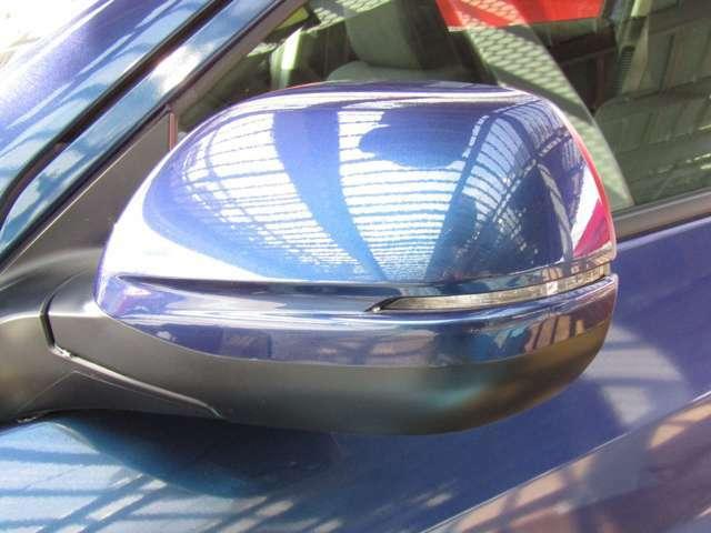 ウインカーミラーなので対向車からの視認性も良いですね♪事故防止に繋がります!