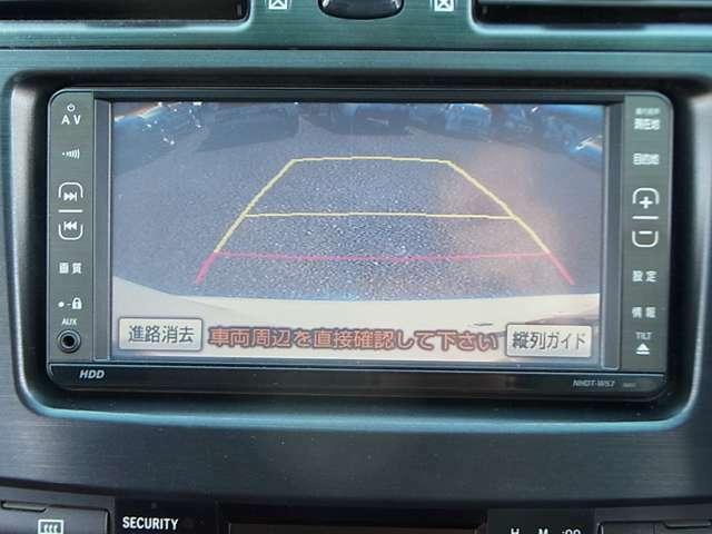 車庫入れも楽々、バックモニター付きで安心!