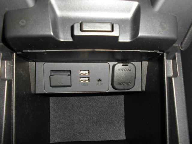USB・AUX
