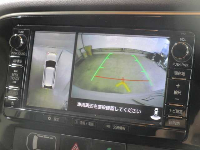 純正メモリーナビゲーション(MMCS) フルセグTV Bluetoothオーディオ ミュージックキャッチャー(SD) CD/DVD再生 マルチアラウンドビュー(全方位カメラ)