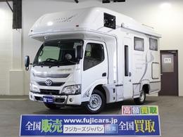 トヨタ カムロード キャンピング ナッツRVクレソンボヤージュX 4WD ワンオーナー FFヒーター 冷蔵庫