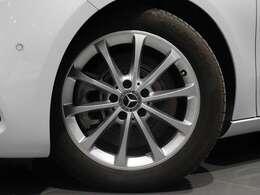 【Mercedes-Benz純正アルミホイール】17インチ10スポークアルミホイールを装着♪