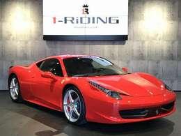 外装色は、フェラーリ定番のレッドカラー「ロッソスクーデリア」です。
