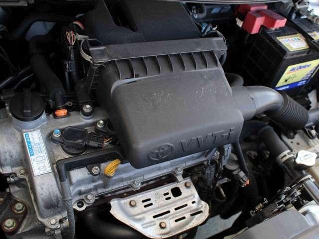 Aプラン画像:オイル漏れもなく綺麗なエンジンルームです。