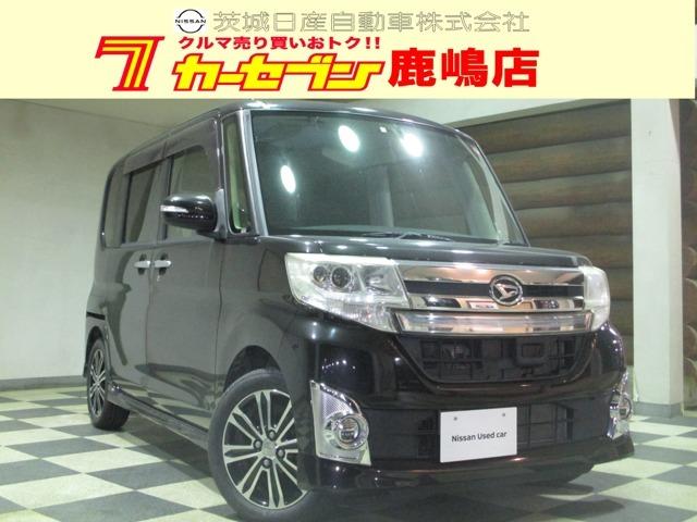 ダイハツ人気の軽自動車 タント カスタムRS SA 平成26年式入荷しました!