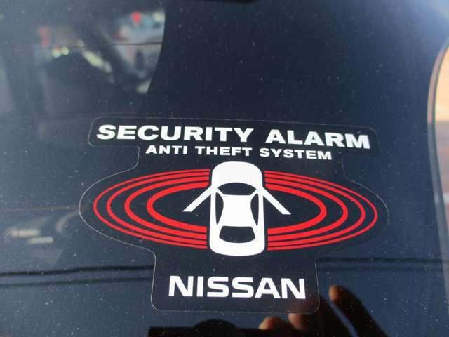 セキュリティ盗難警報装置です。