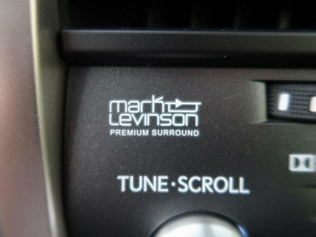 大人気のマークレビンソンがついておりますので、音響も非常に良いです!!