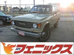トヨタ ランドクルーザー60 4.0 VX ハイルーフ 4WD 平屋根換装フルセグナビ1ナンバー車ETC