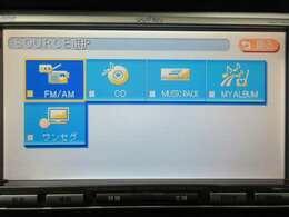 CDの録音機能やワンセグテレビにも対応しております。