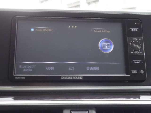 Bluetoothオーディオ DVD 利用可能 使い勝手の良いナビですよ!