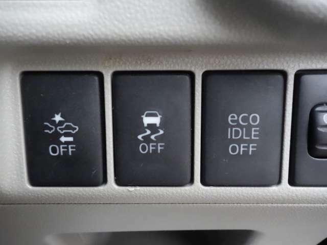 衝突軽減ブレーキ・横滑り防止装置・アイドリングストップ 走行アシスト機能や低燃費走行アシストなど充実装備です♪