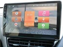 ■車載アンドロイド端末(タッチパネル式、Wi-Fi子機機能、Bluetooth、USB入力端子、ミュージックサーバー機能) ■地デジTV