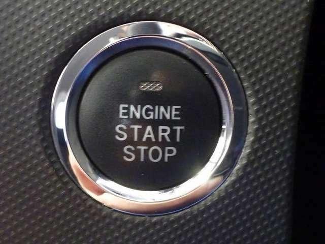 プッシュスタートでエンジン始動♪