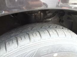 タイヤ溝です