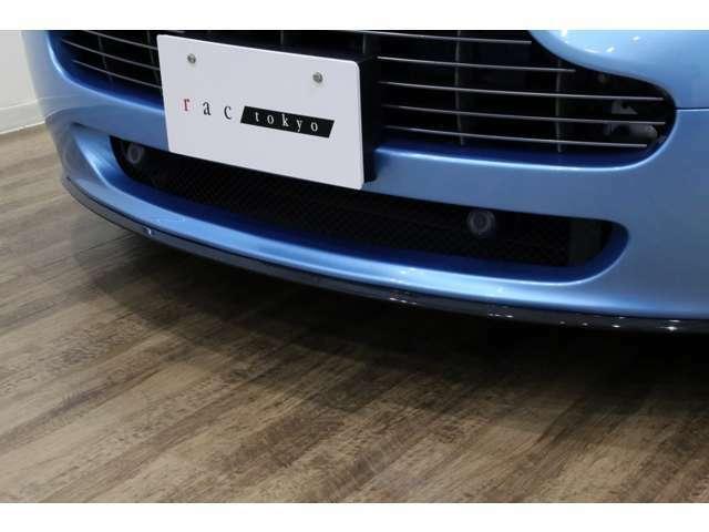 N420専用カーボン・フロントスプリッター装備!!