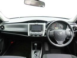 見晴らしがよく、シンプルで誰でも運転しやすいデザインです。