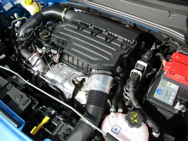 1.3リットルターボエンジン