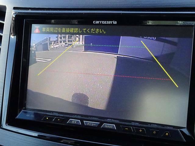 ☆バックカメラ装備で車庫入れも楽々♪後方の安全性も向上します!