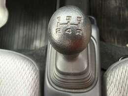 5速MTです。車を操作する醍醐味を味わえます!