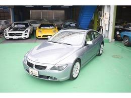 BMW 6シリーズ 645Ci SMG クーペ 右H SMGシフト 本革シート