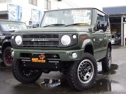 スズキ ジムニー 660 XL スズキ セーフティ サポート 装着車 4WD リフトアップ40mm