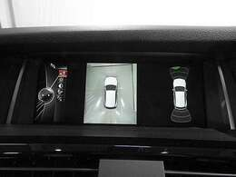トップ&リアカメラと前後障害物センサー(PDC)装備で、駐車をサポート