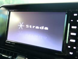 ストラーダ7インチフルセグナビを装備しています!