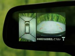 ●レーンアシスト付きバックカメラ『不安な後方もこれで安心!』